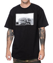 Casual Industrees Dome To Dust Black Tee Shirt