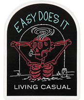 Casual Industrees Easy Does It Sticker