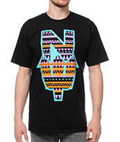 Casual Industrees El N Dub Black Tee Shirt