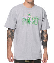 Casual Industrees Emerald City Heather Grey Tee Shirt