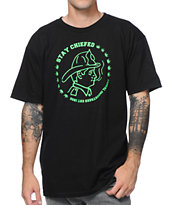 Casual Industrees Fire Chiefed Black Tee Shirt