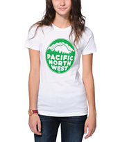 Casual Industrees Girls PNW White Tee Shirt