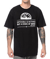 Casual Industrees Impossible Black & White Tee Shirt
