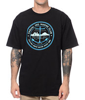 Casual Industrees Marine Club Black Tee Shirt