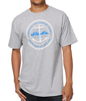 Casual Industrees Marine Club Grey Tee Shirt