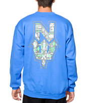 Casual Industrees N Dub Collage Crew Neck Sweatshirt