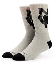 Casual Industrees N Dub Grey Crew Socks