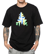 Casual Industrees OR J Tree Portland Black Tee Shirt