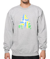 Casual Industrees OR J Tree Portland Crew Neck Sweatshirt