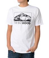Casual Industrees Oregon I'm So Hood White T-Shirt