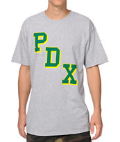 Casual Industrees PDXL Heather Grey Tee Shirt