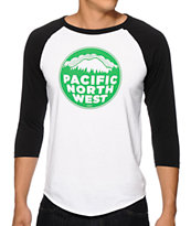 Casual Industrees PNW Baseball Tee Shirt