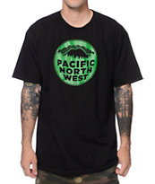Casual Industrees PNW Black T-Shirt