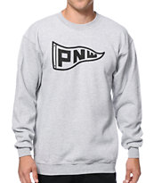 Casual Industrees PNW Flag Crew Neck Sweatshirt