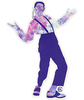 Casual Industrees Purple Urkel Sticker