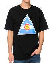 Casual Industrees Rockies Black Tee Shirt