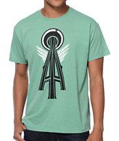 Casual Industrees SN Elephant Mint Tee Shirt