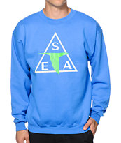 Casual Industrees Sea Triad Crew Neck Sweatshirt