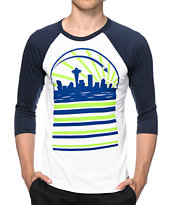Casual Industrees Seasky Rise Baseball T-Shirt