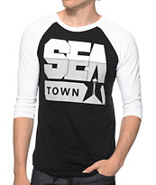 Casual Industrees Seasky Rise Baseball Tee Shirt