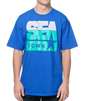 Casual Industrees Seatown Blue Tee Shirt