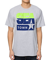 Casual Industrees Seatown Hawks Grey Tee Shirt