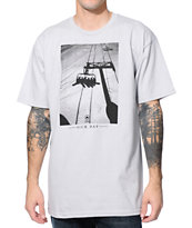 Casual Industrees Sick Day Grey Tee Shirt