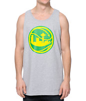 Casual Industrees Sky Ballin Grey Tank Top
