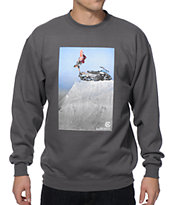 Casual Industrees Sled Shred Crew Neck Sweatshirt