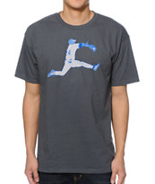 Casual Industrees The Catch Charcoal Tee Shirt