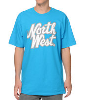 Casual Industrees The Northwest Aqua Tee Shirt