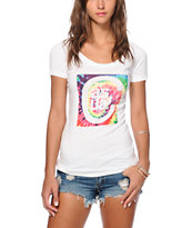 Casual Industrees Tie Dye C Logo T-Shirt
