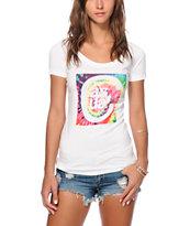 Casual Industrees Tie Dye C Logo T-Shirt
