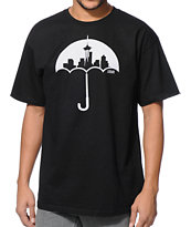 Casual Industrees Umbrella Black Tee Shirt