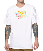 Casual Industrees WA Brah Kente White T-Shirt