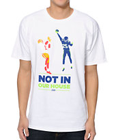 Casual Industrees WA Not In Our House White Tee Shirt