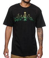 Casual Industrees WA Seattle Lights T-Shirt