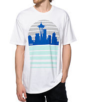Casual Industrees WA Seattle Skyline T-Shirt