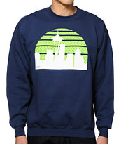 Casual Industrees WA Skyline Arch Crew Neck Sweatshirt