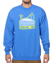 Casual Industrees WA The Dome Crew Neck Sweatshirt