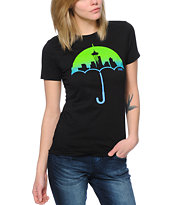 Casual Industrees Women's Umbrella Fade Tee Shirt