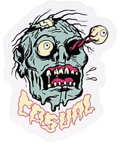 Casual Industrees Zombie Eye Sticker