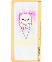 Cat Cream iPhone 5 & 5s Sticker Case
