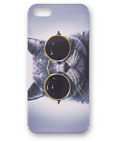 Cat Sunglasses iPhone 5 Case