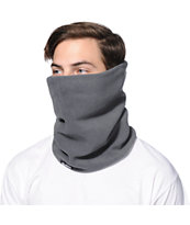 Celtek Meltdown Grey Fleece Neck Gaiter Facemask