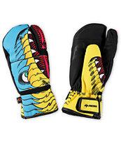 Celtek Trippin Hyper Viper Snowboard Mittens