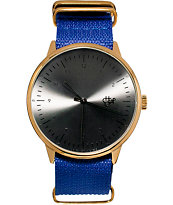 Cheapo Harold Blue Nylon Analog Watch