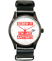Cheapo Pop Screw It Analog Watch