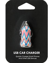 Chevron USB Car Charger
