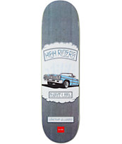 Chocolate Alvarez Rider Patch 8.25 Skateboard Deck